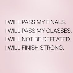Positive affirmations for students // follow us @motivation2study for daily inspiration