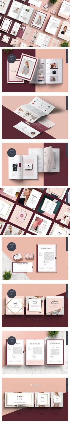 FITZROVIA Brand Pack #cards #imagecollage #websitegraphic #businesscard #tuck #brochure #moodboard #template #packaging #stationery #designinspiration #mockup #template #minimal #businesscards #MockupTemplate #mockup #mockups #holidays