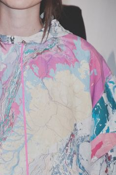 Christopher Raeburn SS15 Dazed backstage