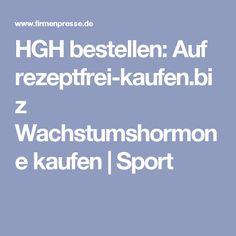 HGH bestellen: Auf rezeptfrei-kaufen.biz Wachstumshormone kaufen | Sport