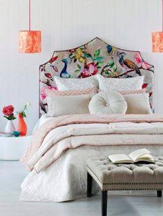 Hochwertig 30 Ideen Für Bett Kopfteil   Märchenhafte Und Kunstvolle Beispiele