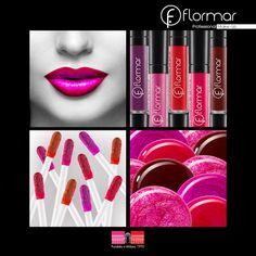 Te encantará el aspecto impresionantemente brillante del Larga Duración Lip Gloss #Flormar en tus #labios!
