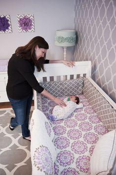 Love this crib bedding
