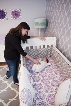 Love this crib bedding