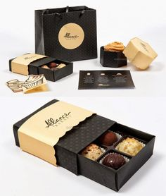Bakery packaging design - 100 Creative and Brilliant Packaging Design ideas from around the world – Bakery packaging design Cake Boxes Packaging, Baking Packaging, Honey Packaging, Dessert Packaging, Chocolate Packaging, Food Packaging Design, Packaging Design Inspiration, Design Ideas, Branding Design
