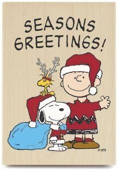 SNOOPY~SEASONS GREETINGS!.