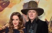 """Lisa Marie Presley and musician Michael Lockwood attend the premiere of Warner Bros Picture's """"Mad Max: Fury Road"""""""