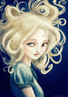 I love this whimsical version of Auri. It fits her so well! Auri by Arbetta.deviantart.com
