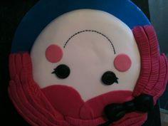 Lalaloopsy birthday cake.
