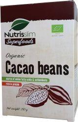 Granos de cacao orgánico. / Cacao beans. Cacao Beans, Cacao Nibs, Superfoods, Cocoa Nibs, Super Foods