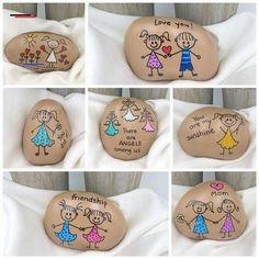 You Are My Sunshine Painted Rock, Custom Hand Painted Stone, Sunshine Painted Rocks, Affirmation Stones - #felsenundsteine