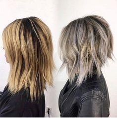 Oh hi new hair. Oh hi new hair. Medium Hair Styles, Short Hair Styles, Hair Color And Cut, Great Hair, Hair Today, Hair Dos, Pretty Hairstyles, Short Hair Cuts, Hair Lengths