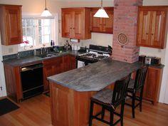 Kitchen Countertops & Vanity Tops | Ashfield Stone (small quarry near Shelburne Falls, MA)
