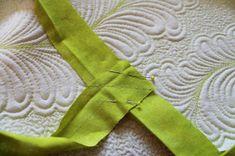 Jana Dohnalová: Jak lemovat - návod Accessories, Scrappy Quilts, Ornament