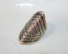 Vintage Gold American Filigree Ring by AccessoriesG on Etsy, $0.60