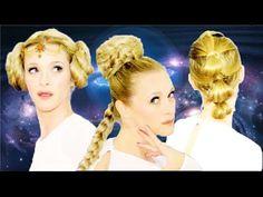 Peinados Star Wars. - YouTube