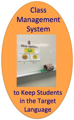 Class Management System to Keep Students in the Target Language | World Language Classroom Resources