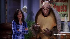 """If """"Friends"""" Had Used Suggested Hashtags. From """"The One With the Holiday Armadillo."""""""