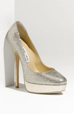 Women's Fashion High Heels :    Jimmy Choo Champagne Glitter Fabirc I have these:)  - #HighHeels https://youfashion.net/shoes/high-heels/trendy-womens-high-heels-jimmy-choo-champagne-glitter-fabirc-i-have-these/