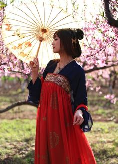 No idea if this hanfu is period. Looks like it could be. Hanfu, Cheongsam, Traditional Fashion, Traditional Dresses, Traditional Chinese, Oriental Fashion, Asian Fashion, Chinese Fashion, Asian Style