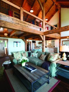 """timber Frame"" Design, Pictures, Remodel, Decor and Ideas - page 29"