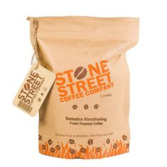 INDONESIAN SUMATRA Dark Roast Whole Bean Coffee | Single Origin Small Batch Roasted | Naturally Processed 100% Arabica | Full Body * For more information, visit image link.
