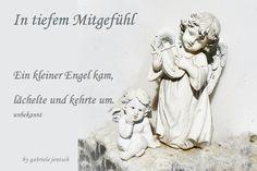 """Beileidskarte """"Kleiner Engel"""" von PHOTOGLÜCK auf DaWanda.com"""