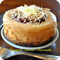 Pineapple Coconut Cheesecake from Nut Butter Universe