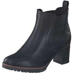 smiling for feet Chelsea Boot Damen schwarz   Kategorie  Damen  SaleBootsSchuhe Synthetik schwarz trendige Chelsea-Boots in schwarzer  Leder-Optik ... 2b4d81edb9