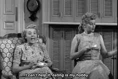 I can't help it, eating is my hobby