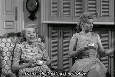 Oh, Ethel. She gets me. Haha!!