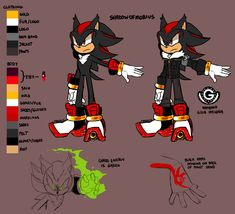 "shadowofmobius: "" 2015 Reference of Shadow the Hedgehog (Main Verse) Art by frandlle // sega-carnival. **Do not use/claim/repost as your own. Shadow The Hedgehog, Sonic The Hedgehog, Hedgehog Art, Shadow And Maria, Shadow And Amy, Sonic And Shadow, Shadow 2, Boom Images, How To Draw Sonic"