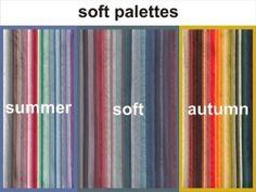 soft summer and soft autumn