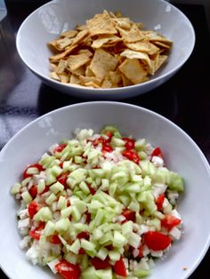 Six Layer Hummus Dip « Making It With Danielle