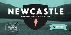 Newcastle is a sans serif typeface created by Marcus Sterz and published by FaceType which has some similarities with Blitzplakat, but is more impoved