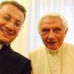 El primer selfie del Papa Benedicto XVI