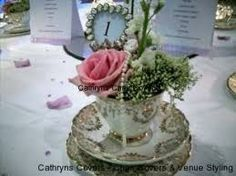 jars and teacup table centres - Google Search