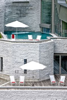 The Bergoase Spaat Tschuggen Grand Hotel