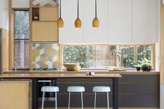 #kitchen #bar #counter #stools #australia #home