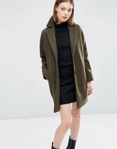 Image 1 ofASOS Ultimate Cocoon Coat
