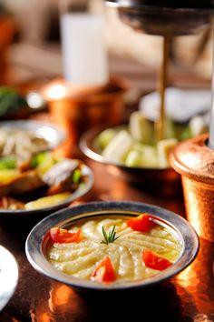 "Turkish ""meze"" - eggplant salad - patlıcan salatası Turkish Salad, Turkish Spices, Turkish Recipes, Ethnic Recipes, Eggplant Salad, Turkish Breakfast, Turkish Delight, Exotic Food, I Want To Eat"