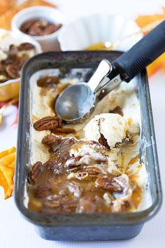 No-Churn Pecan Pie Ice Cream for Thanksgiving