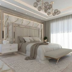 Room Design Bedroom, Master Bedroom Interior, Home Room Design, Home Decor Bedroom, Modern Luxury Bedroom, Luxury Bedroom Design, Luxurious Bedrooms, Decor Interior Design, Interior Decorating