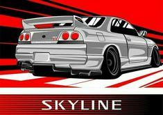 Nissan Skyline GTR-R34