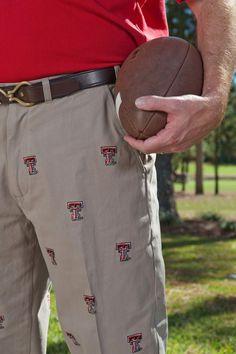 Texas Tech Khaki Pants