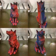 Värimiksaus 3D-tulostusta ZMoprh 3D-tulostimella.