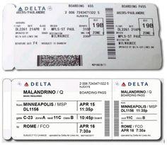Airline Tickets, Boarding Pass, Air Flight Tickets, Flight Tickets