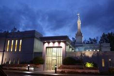 Photograph of the Anchorage Alaska Temple