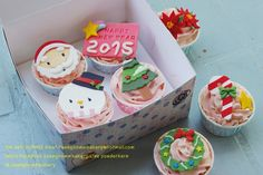 Cupcake Christmas & Happy New Year 2015