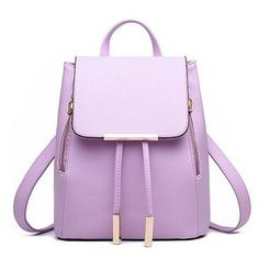 Wholesale Buying Cheapest and Quality Women Backpack High Quality PU Leather Mochila Escolar School Bags For Teenagers Girls Top-handle Backpacks Herald Fashion Fashion Handbags, Fashion Bags, Fashion Backpack, Fashion Women, Travel Fashion, Fashion Top, High Fashion, Star Fashion, Fashion Design
